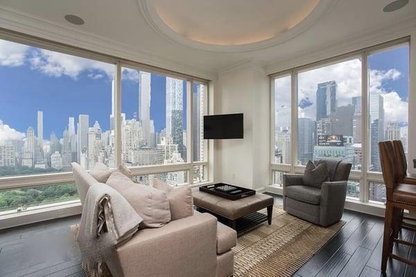 Цены на недвижимость в Манхэттене на 1 Центральный парк Запад
