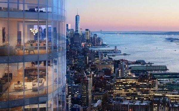 15 Hudson Yards апартаментов в Нью-Йорке Продажа