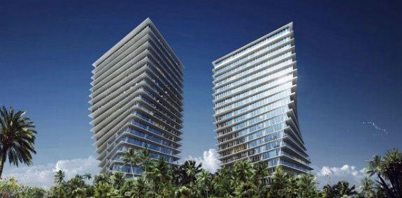Роскошные здания в Майами