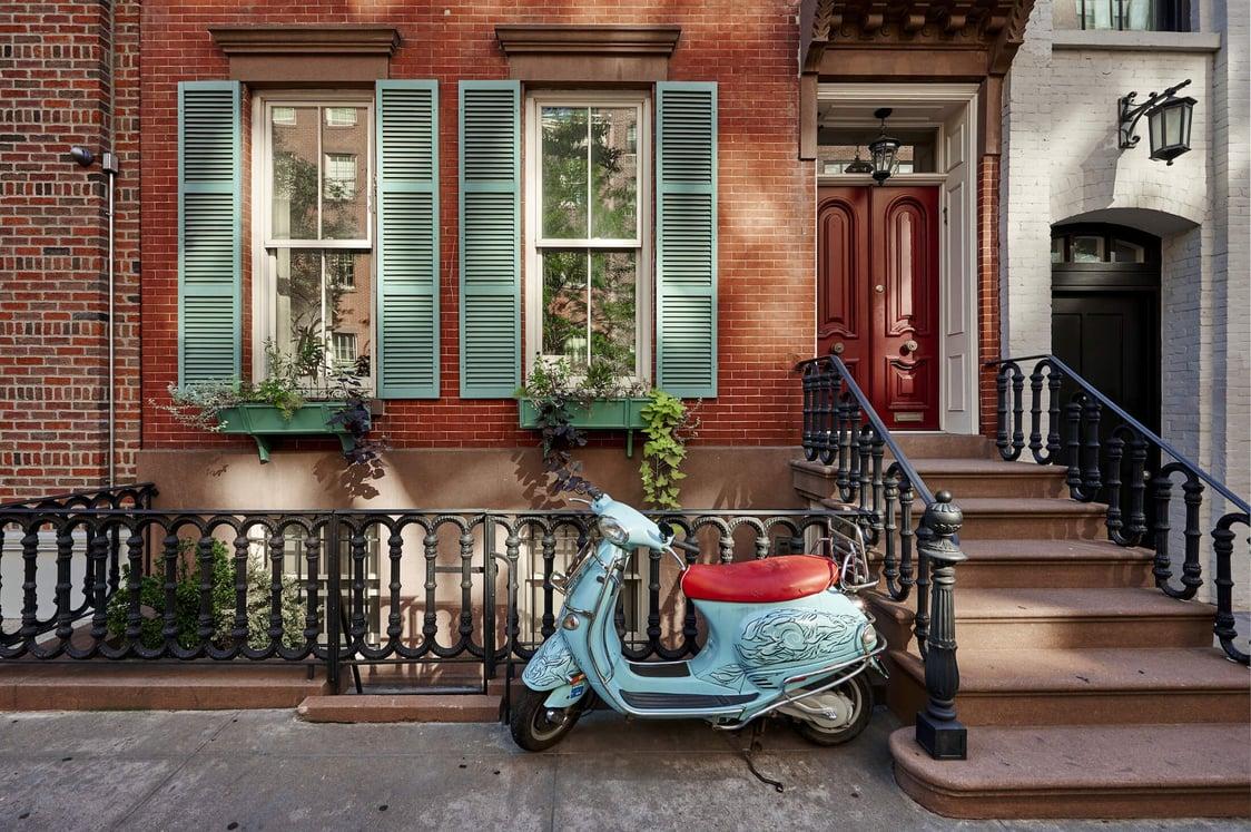 West Village Апартаменты в Нью-Йорке
