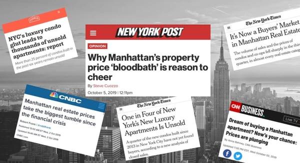 Замедление роста цен на кондоминиумы на Манхэттене