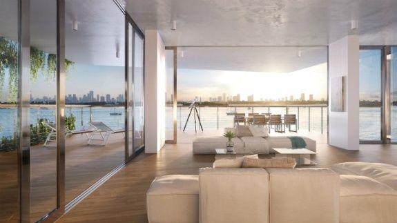 Monad Terrace кондоминиумы на Майами пляже на продажу