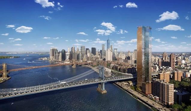 20-летнее снижение налогов One Manhattan Square