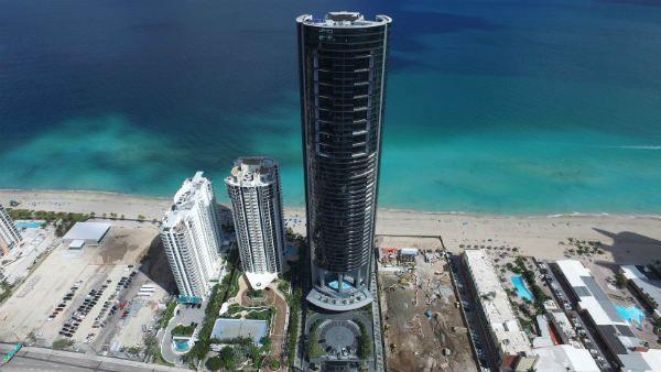 Дизайнерская башня Porsche Майами