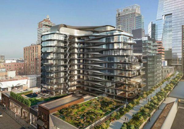 Zaha Hadid 520 West 28 Улица - Hudson Yards Дома для продажи