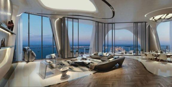 Zaha Hadid роскошные здания Майами